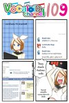 1girl 4koma ascot blonde_hair blue_eyes catstudioinc_(punepuni) comic computer_screen facebook hair_ribbon highres kagamine_rin left-to-right_manga ribbon school_uniform serafuku short_hair solo thai translation_request vocaloid