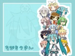 2boys 6+girls :3 :< akita_neru animal_on_head chibi_miku dog dog_on_head doll drill_hair dual_wielding everyone fl-chan fl_studio hamo_(dog) handheld_game_console hatsune_miku heterochromia kagamine_len kagamine_rin kaito kasane_teto kiyone_suzu megurine_luka meiko minami_(colorful_palette) multiple_boys multiple_girls playstation_portable twin_drills twintails utau vocaloid voyakiloid wallpaper yokune_ruko yowane_haku zoom_layer |_|