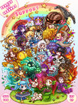 =_= >_< alistar_(league_of_legends) anchor annie_hastur arcade_stick armor balloon_animal bib black_hair blitzcrank blonde_hair blue_eyes blue_hair blush_stickers bone brown_eyes brown_hair butterfly chestnut_mouth cloud controller dark_skin double_bun drooling earrings facial_hair fan fang fiddlesticks fire fish flower food game_controller glasses gloves goggles green_eyes grin hair_ornament hairclip hat headband headgear heart heimerdinger highres horns ice_cream ice_cream_cone janna_windforce jewelry joystick karma_(league_of_legends) kog'maw lantern league_of_legends leona_(league_of_legends) lulu_(league_of_legends) luxanna_crownguard mace mermaid microphone monster_girl morgana multicolored_hair mushroom mustache nami_(league_of_legends) nautilus_(league_of_legends) nidalee nose_picking nose_ring nunu one_eye_closed panda party_hat pinwheel pointy_ears polearm poro_(league_of_legends) purple_eyes purple_hair purple_skin rainbow red_eyes red_hair sapling short_eyebrows sickle sitting smile snowball snowman sona_buvelle soraka spear staff star sueyen sun sunflower surfboard sweatdrop taric teemo thresh tibbers tongue top_hat twintails umbrella water weapon willump wings yellow_eyes yordle zyra