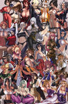 6+girls abs alcohol angel_(kof) asuka_(senran_kagura) bare_shoulders bat_print beer beer_mug bikini bikini_under_clothes blazblue blonde_hair bonne_jenet bow breasts brown_hair busujima_saeko caster_(fate/extra) choker cleavage collage colored corset covered_nipples crossover detached_sleeves disgaea dress eu03 fatal_fury fate/extra fate_(series) final_fantasy final_fantasy_vii forehead_jewel goggles goggles_on_head green_hair highres highschool_of_the_dead huge_breasts idolmaster iroha_(samurai_spirits) justice_gakuen king_of_fighters kongiku koyori large_breasts leaning_forward long_hair mahou_shoujo_madoka_magica makai_senki_disgaea_2 makoto_nanaya maou_(maoyuu) maoyuu_maou_yuusha mark_of_the_wolves megurine_luka minazuki_kyouko miura_azusa momiji_(ninja_gaiden) morrigan_aensland multiple_crossover multiple_girls namco_x_capcom ninja_gaiden no_bra oboro_muramasa original pantyhose pink_hair pokemon pokemon_(game) print_legwear red_hair ribbed_sweater rozalin sagging_breasts samurai_spirits saya_(namco_x_capcom) scarf selvaria_bles sengoku_ace sengoku_blade senjou_no_valkyria senjou_no_valkyria_1 senran_kagura senran_kagura_(series) shirona_(pokemon) short_hair side-tie_bikini sideboob silver_hair skindentation soulcalibur squatting strapless_dress sweater sweater_vest swimsuit swimsuit_under_clothes taki_(soulcalibur) taneshima_popura tengen_toppa_gurren_lagann thighhighs tifa_lockhart tomoe_mami torn_clothes touhou trait_connection turtleneck underboob vampire_(game) vocaloid working!! yakumo_yukari yellow_bow yoko_littner yomako