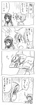akemi_homura check_translation comic hair_ribbon highres kaname_tatsuya kurage_modoki mahou_shoujo_madoka_magica monochrome pixiv_manga_sample ribbon sweatdrop translated translation_request