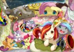 1boy 6+girls :p apple_bloom blush box diamond_tiara discord_(my_little_pony) fluttershy horse japan_ponycon kashiwa_mochi_(food) kodomo_no_hi koinobori looking_at_viewer mascot multicolored_hair multiple_girls my_little_pony my_little_pony_friendship_is_magic no_humans open_mouth origami paper_hat paper_kabuto pegasus pink_hair pinkie_pie poniko_(japan_ponycon) pony poster purple_hair rai-rai red_hair roku_(japan_ponycon) scootaloo silver_spoon smile streaked_hair sweetie_belle tongue tongue_out