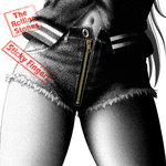 1girl album_cover close-up cover crotch cutoffs english long_hair mahou_shoujo_madoka_magica monochrome navel parody realistic sakura_kyouko shingyouji_tatsuya shorts solo spot_color sticky_fingers_(album) the_rolling_stones unbuttoned zipper
