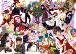6+boys 6+girls arra_sails arrow_(darren_shan) bald bec_mcconn beranabus black_hair blonde_hair character_request christmas christmas_ornaments christmas_tree creator_connection croissant crossover cupcake darius_shan dark_skin darren_shan dervish_grady eating evra_von explosive fangs food gannen_harst gavner_purl green_hair grenade grubitsch_grady guitar harkat_mulds hat hibernius_tall highres hys122211 instrument kernel_fleck knife kurda_smahlt larten_crepsley liz_carr lord_loss madam_octa meera_flame mika_ver_leth multiple_boys multiple_girls necktie old_man open_mouth paris_skyle piano ponytail red_hair shark_(the_demonata) short_hair smile snowman spider steve_leonard the_demonata the_saga_of_darren_shan timas_brauss tongue tongue_out vancha_march vanez_blane