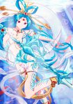 1girl absurdres blue_hair highres long_hair magi_the_labyrinth_of_magic ren_kougyoku solo tagme very_long_hair yeyebirdie