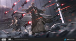 2016 3boys ameen_naksewee armor beard blood bloody_clothes boots cloak commentary corpse death_star energy_gun energy_sword epic facial_hair fantasy good_end han_solo hangar highres hood hooded_cloak injury jedi laser_rifle lightsaber luke_skywalker male_focus manly millennium_falcon multiple_boys obi-wan_kenobi old_man outstretched_arms parody realistic science_fiction soldier space space_craft space_station spacecraft_interior spoilers star_(sky) star_wars stormtrooper suicide sword telekinesis too_many_weapons tunic vest watermark weapon