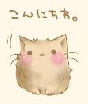 :3 animal blush cat cat_focus copyright_request no_humans original semiame translated