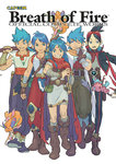 5boys black_hair blue_eyes blue_hair boots breath_of_fire breath_of_fire_i breath_of_fire_ii breath_of_fire_iii breath_of_fire_iv breath_of_fire_v capcom cape character_request cover cover_page crossover facial_mark fairy forehead_mark green_eyes grin group_shot highres knee_boots magatama multiple_boys multiple_crossover official_art one_eye_closed over_shoulder ryuu_(breath_of_fire_i) ryuu_(breath_of_fire_ii) ryuu_(breath_of_fire_iii) ryuu_(breath_of_fire_iv) ryuu_(breath_of_fire_v) sleeveless smile stuffed_animal stuffed_toy teddy_bear topknot weapon weapon_over_shoulder