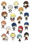 aegis_(persona) ai-wa amada_ken amagi_yukiko androgynous aragaki_shinjirou black_eyes black_hair blonde_hair blue_eyes blue_hair blush bow brown_eyes brown_hair cabbie_hat chibi female_protagonist_(persona_3) gakuran grey_eyes grey_hair hair_over_one_eye hairband hanamura_yousuke hat headphones iori_junpei jacket kirijou_mitsuru koromaru kujikawa_rise kuma_(persona_4) long_hair multiple_boys multiple_girls narukami_yuu pantyhose persona persona_3 persona_4 red_eyes red_hair reverse_trap ribbon sanada_akihiko satonaka_chie scar school_uniform shirogane_naoto short_hair skirt smile takeba_yukari tatsumi_kanji track_jacket twintails yamagishi_fuuka yuuki_makoto