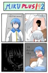 1boy 300 alarm_clock blue_hair castration catstudioinc_(punepuni) censored cigar_cutter clock comic dreaming error highres kaito kyubey left-to-right_manga leonidas mahou_shoujo_madoka_magica nightmare novelty_censor thai translated vocaloid white_hair