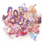 black_hair blonde_hair blue_eyes blue_hair blush brother_and_sister brown_hair chibi closed_eyes dress elice_(fire_emblem) fire_emblem fire_emblem:_kakusei fire_emblem:_monshou_no_nazo fire_emblem:_souen_no_kiseki fire_emblem_heroes green_hair hairband ike krom lethe liz_(fire_emblem) long_hair male_my_unit_(fire_emblem:_kakusei) marich marth mist_(fire_emblem) mordecai multiple_boys multiple_girls my_unit_(fire_emblem:_kakusei) open_mouth ranulf red_eyes scarf short_hair short_twintails siblings sisters sleeping smile soren twintails younger