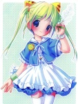 1girl animal_ears cat_ears copyright_request dress highres pop solo