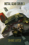 battle beard big_boss blonde_hair breasts brown_hair cleavage colin_tan copyright_name driving dust_cloud eva_(mgs) facial_hair headband highres long_hair metal_gear_(series) metal_gear_solid_3 military military_vehicle motor_vehicle motorcycle mullet rocket_launcher rpg shagohod sidecar tank vehicle weapon
