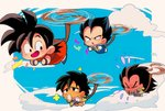 +++ 4boys :d :o >_< armor black_eyes black_hair blue_sky broly_(dragon_ball_super) brothers chibi clenched_hands cloud cloudy_sky dark_skin dark_skinned_male day dragon_ball dragon_ball_(classic) dragon_ball_super dragon_ball_super_broly finger_to_mouth flower flying flying_sweatdrops frown gloves happy looking_back looking_up monkey_tail motunabe707070 multiple_boys open_mouth raditz siblings sky smile son_gokuu spiked_hair sweatdrop tail vegeta white_gloves wristband younger