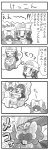 /\/\/\ 1girl 4koma alternate_costume bibarel blood carrying chop clothed_pokemon coat comic furrification furry gen_4_pokemon greyscale hat heart hikari_(pokemon) holding holding_pokemon imagining monochrome piplup pokemoa pokemon pokemon_(creature) pokemon_(game) pokemon_dppt pokemon_platinum princess_carry saliva spoken_person translated wedding winter_clothes
