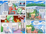 alternate_form azumarill bellossom comic deoxys english gardevoir highres latios metang no_humans parasect pokemoa pokemon pokemon_(creature) pokemon_(game) pokemon_frlg pokemon_gsc pokemon_rse raichu swampert wigglytuff