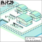 2boys bad_id bad_pixiv_id building copyright_name green hat isometric kounog lowres map monochrome multiple_boys ookido_green ookido_nanami pixel_art pokemon pokemon_(game) pokemon_rgby red_(pokemon) red_(pokemon_rgby) town translated water