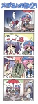 +++ 3girls 4koma =_= cake chibi colonel_aki comic crying flying_sweatdrops food izayoi_sakuya multiple_girls orz pastry remilia_scarlet saigyouji_yuyuko silent_comic streaming_tears t_t tears touhou translated