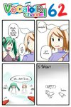 2girls 4koma acolyte_(ragnarok_online) aqua_hair archer_(ragnarok_online) blonde_hair blue_eyes bow catstudioinc_(punepuni) comic defeat face_down hair_bow hatsune_miku highres index_finger_raised kagamine_rin left-to-right_manga millipede multiple_girls ragnarok_online silk spider_web surrounded thai translated twintails vocaloid