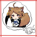 2girls :d ahoge animal_ears bag bangs blue_coat blush border breath brown_hair chibi closed_eyes dreaming eyebrows_visible_through_hair fox_ears fox_girl fox_hair_ornament fur-trimmed_sleeves fur_collar fur_trim hair_between_eyes hair_ornament hairclip handbag holding_bag kotatsu looking_at_viewer lying multiple_girls on_stomach open_mouth original outdoors pine_tree plaid red_border red_eyes short_hair sleeping smile standing table tree yuuji_(yukimimi) zzz