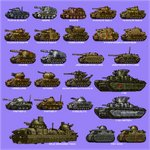 antiaircraft_weapon bison_ii blue_background camouflage fiat_2000 girls_und_panzer ground_vehicle hamcoro hummel jagdpanzer_iv kugelblitz military military_vehicle mobelwagen motor_vehicle no_humans original orlik_armoured_train ostwind panzerkampfwagen_ii panzerkampfwagen_iii panzerkampfwagen_iv panzerkampfwagen_panther simple_background sturmpanzer_iv_brummbar t-35 tank tank_focus vehicle_focus wespe_spg wirbelwind