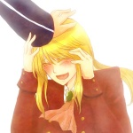 1boy androgynous blonde_hair formal smile umineko_no_naku_koro_ni ushiromiya_lion