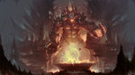2013 cave chthon claws cyl1981 demon english fangs fire highres monster no_humans quake realistic spike