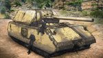 animal_ears artist_request cat_ears cat_tail commentary_request final_fantasy final_fantasy_xiv ground_vehicle highres military military_vehicle miqo'te motor_vehicle panzerkampfwagen_viii_maus tail tank tree