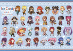 6+boys 6+girls alisha_diphda anise_tatlin annotation_request asbel_lhant axe bad_id bad_pixiv_id black_hair black_hat blonde_hair blue_background blue_eyes blue_hair braid brown_hair chakram cheria_barnes chibi collet_brunel corrine dezel_(tales) dual_wielding edna_(tales) estellise_sidos_heurassein everyone flynn_scifo fujibayashi_shiina genius_sage glasses gradient_hair green_eyes green_hair guy_cecil hair_bun hair_over_one_eye hat headband hubert_ozwell ion jade_curtiss judith karol_capel kendama kratos_aurion lailah_(tales) lloyd_irving long_hair looking_at_viewer luke_fon_fabre mayu_(15120141) messy_hair mikleo_(tales) multicolored_hair multiple_boys multiple_girls natalia_luzu_kimlasca_lanvaldear patty_fleur pink_hair pirate_hat polearm presea_combatir purple_eyes purple_hair raven_(tov) red_eyes red_hair regal_bryan rita_mordio rose_(tales) side_ponytail smile sophie_(tales) sorey_(tales) spear spiked_hair striped striped_background sword tales_of_(series) tales_of_graces tales_of_symphonia tales_of_the_abyss tales_of_vesperia tales_of_zestiria tear_grants tokunaga twin_braids twintails two_side_up umbrella weapon yuri_lowell zaveid_(tales) zelos_wilder