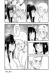 1boy 1girl 774_(nanashi) :t blush breast_press comic couple embarrassed eye_contact forehead-to-forehead full-face_blush greyscale grin head_steam hetero hyuuga_hinata long_hair looking_at_another mixed_bathing monochrome naruto nude o_o onsen smile steam surprised translated uzumaki_naruto water wavy_mouth wet