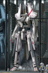 armor catwalk damaged engineer hangar helmet highres i.t.o_daynamics mecha morito_(sidonia_no_kishi) pilot pilot_suit realistic science_fiction sidonia_(ship) sidonia_no_kishi smoke space_craft spacecraft_interior spacesuit tsugumori