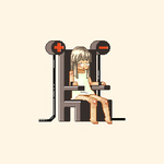 1girl =_= animated animated_gif chair death electric_chair electrocution foaming_at_the_mouth lowres pee peeing peeing_self pixel_art simple_background solo tears torture vvindowsme