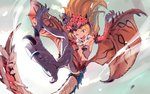 andou_chikanori brown_hair monster_girl monster_hunter personification rathalos