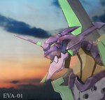 eva_01 highres mecha neon_genesis_evangelion no_humans