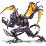 1boy 3d absurdres alien armor artist_request claws cyborg dragon fighting_stance fine_fabric_emphasis full_body glowing glowing_eyes highres horns huge_filesize legs_apart male_focus metroid metroid:_samus_returns no_humans no_pupils official_art orange_eyes purple_skin ridley sharp_teeth silver_trim solo standing super_smash_bros. super_smash_bros_ultimate tail teeth tongue transparent_background wings yellow_sclera yellow_wings