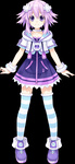 1girl bracelet choujigen_game_neptune collar cropped_jacket dress hair_ornament highres jacket jewelry kami_jigen_game_neptune_v neptune_(choujigen_game_neptune) neptune_(series) official_art purple_eyes purple_hair short_hair smile solo striped striped_legwear thighhighs transparent_background tsunako