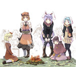 6+girls adapted_costume aki_minoriko aki_shizuha animal_ears apron basket bent_over black_legwear blazer boots brown_hair bucket bunny_ears campfire capelet carrot carrot_necklace carrying crowd food fruit fujiwara_no_mokou grapes hair_ornament heiya in_bucket in_container inaba_tewi jacket jewelry karakasa_obake kawashiro_nitori kiss kisume long_hair long_sleeves mittens mob_cap multiple_girls necklace pendant puffy_short_sleeves puffy_sleeves purple_hair red_eyes reisen reisen_udongein_inaba scarf shirt short_sleeves siblings silver_hair sisters sitting skirt skirt_set smile sweet_potato tatara_kogasa thighhighs touhou umbrella very_long_hair wariza winter_clothes