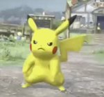 animated lowres pikachu pokemon pokken_tournament