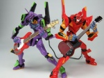 bass_guitar epic eva_01 eva_02 figure guitar instrument lowres music_man_stingray neon_genesis_evangelion no_humans photo revoltech sg