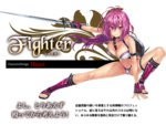 1girl bad_anatomy bad_leg between_breasts bikini bikini_warriors breasts character_class character_request cleavage hisashi_(nekoman) large_breasts long_hair open_toe_shoes pink_eyes pink_hair ponytail shield shin_guards shoes smile solo swimsuit sword tagme translation_request weapon wrist_guards