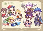angry armor blonde_hair blue_eyes blue_hair book cape chibi closed_eyes doseisan doubutsu_no_mori fire_emblem fire_emblem:_kakusei gloves hat inkling jewelry jigglypuff kirby kirby_(series) krom link lucas male_my_unit_(fire_emblem:_kakusei) mamkute mother_(game) mother_2 mother_3 my_unit_(fire_emblem:_kakusei) ness open_mouth pokemon pokemon_(creature) robe short_hair simple_background sleeping splatoon_(series) squid stick super_smash_bros. super_smash_bros._ultimate teijiro the_legend_of_zelda the_legend_of_zelda:_the_wind_waker tiara toon_link villager_(doubutsu_no_mori)