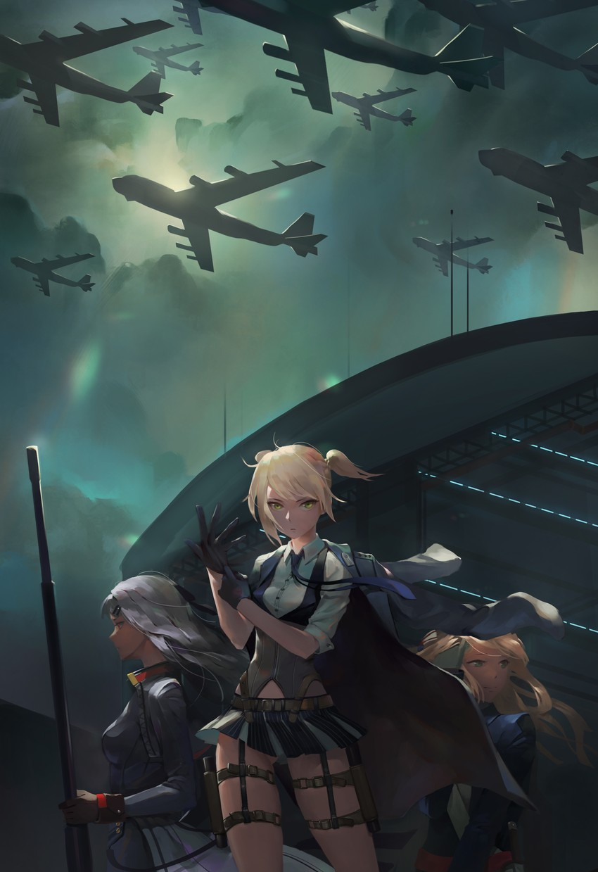 iws-2000, m1903 springfield, and welrod mk2 (girls frontline) drawn ...