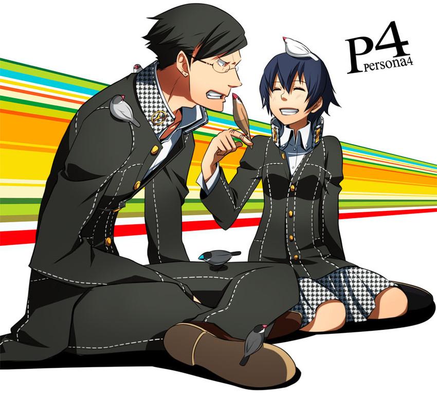 Shirogane Naoto And Tatsumi Kanji (persona, Persona 4, And