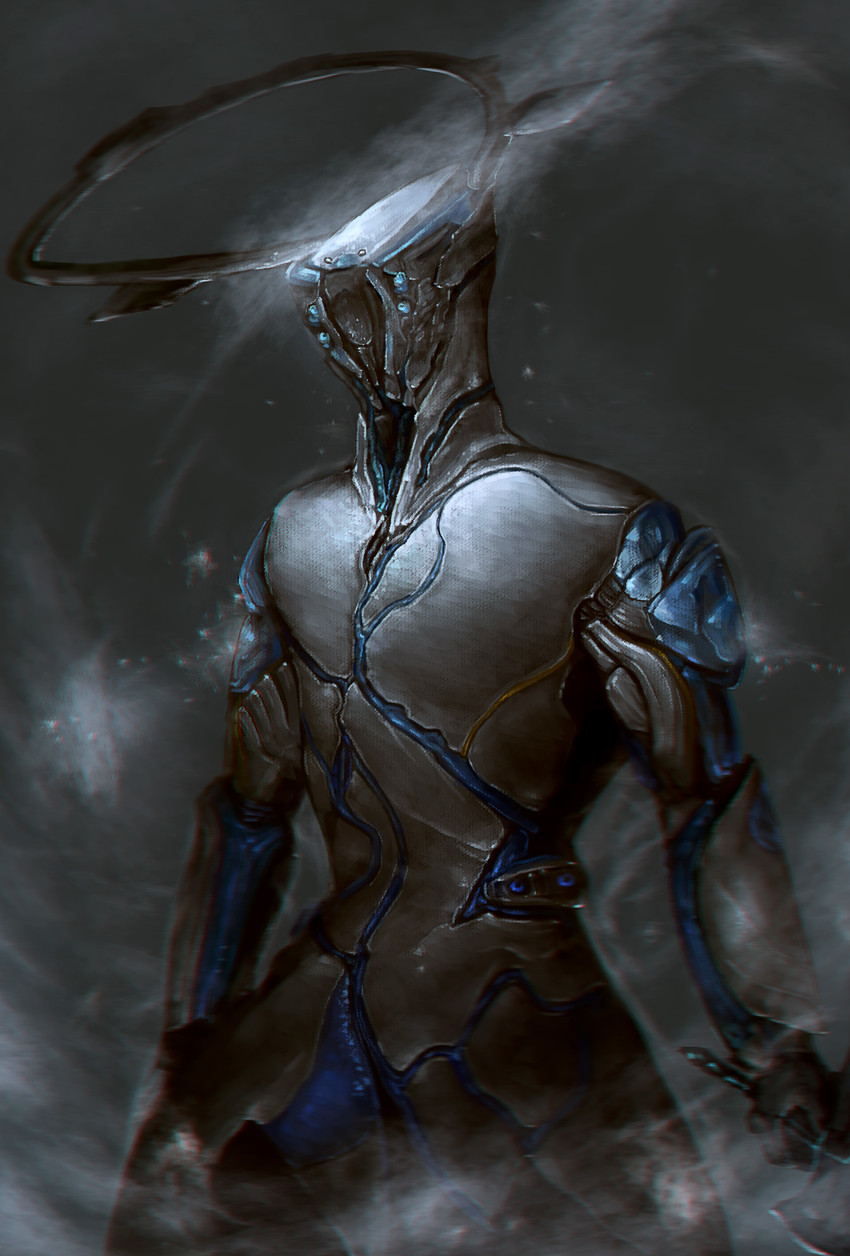 frost (warframe) drawn by wallie