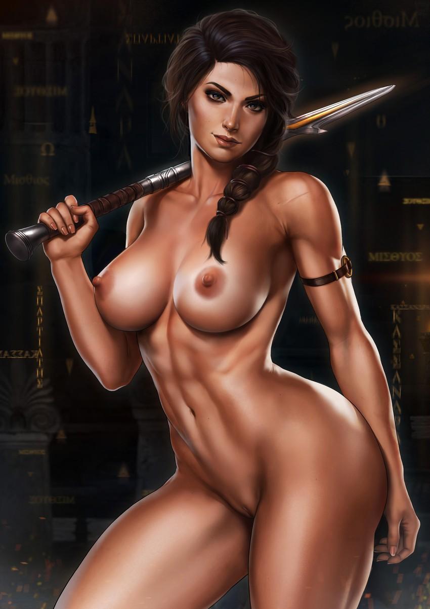 Naked assassins girls posing
