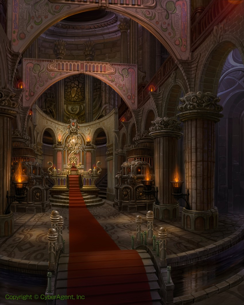 Fantasy Art Castle Interior