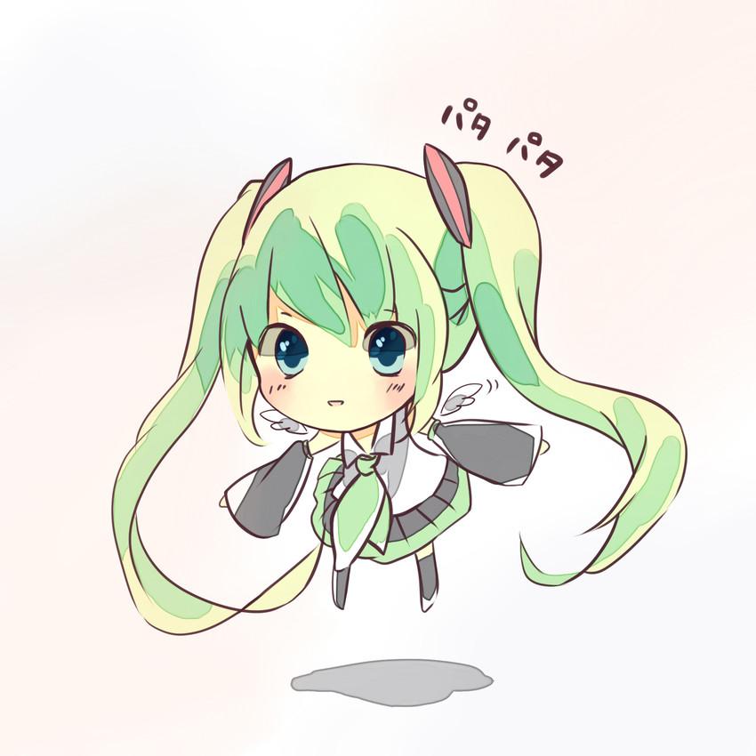 hatsune miku (vocaloid) drawn by nashizawa
