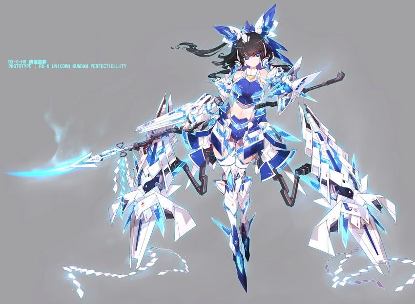 Unicorn Gundam Perfectibility Art Danbooru