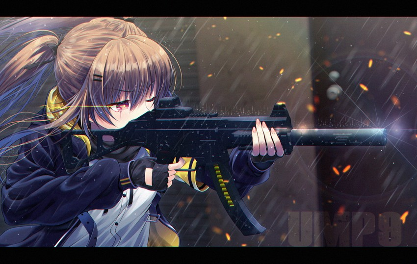 Sayumi Asagiri [ID] __ump9_girls_frontline_drawn_by_honami_yths4221__sample-1e3dff095ee92098c272e34b6b818a06