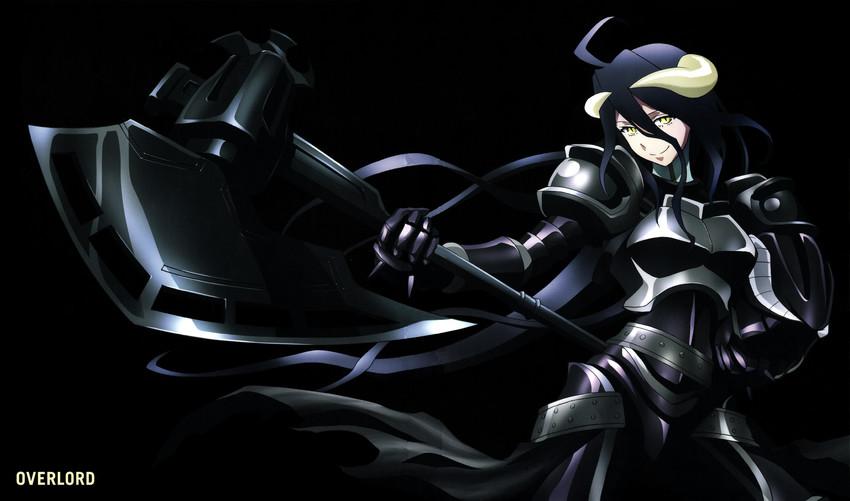 albedo (overlord (maruyama)) drawn by yoshimatsu takahiro